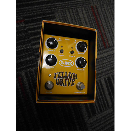 T-Rex Engineering Yellow Drive Distortion Yellow Yellow