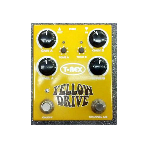 T-Rex Engineering Yellow Drive Effect Pedal-thumbnail