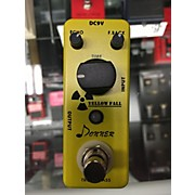 Donner Yellow Fall Effect Pedal