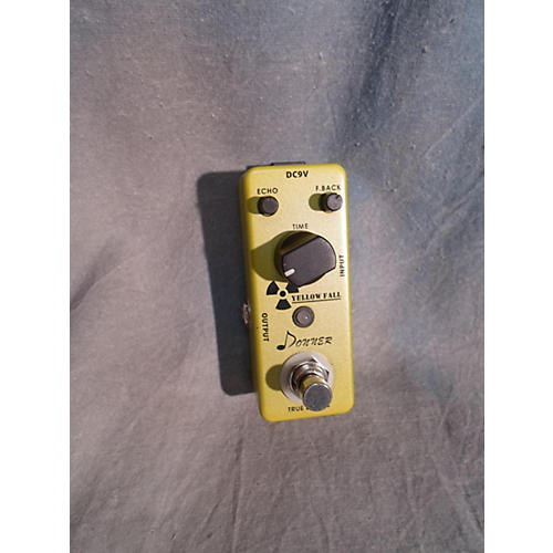 In Store Used Yellow Fallout Effect Pedal