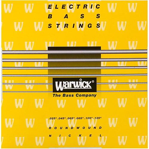 Warwick Yellow Label 6-String M Nickel Bass Strings-thumbnail