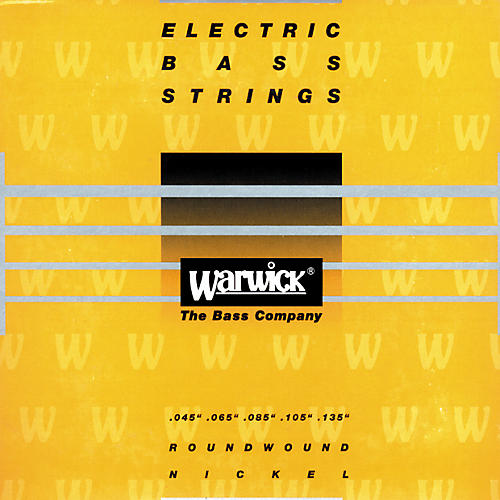 Warwick Yellow Label Nickel Medium 5-String Bass Strings