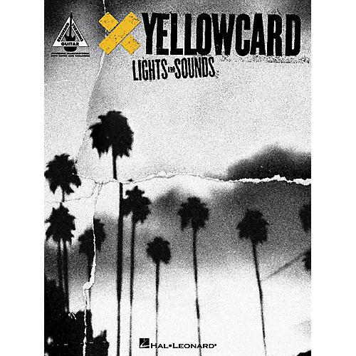 Hal Leonard Yellowcard Lights And Sounds Guitar Tab Songbook