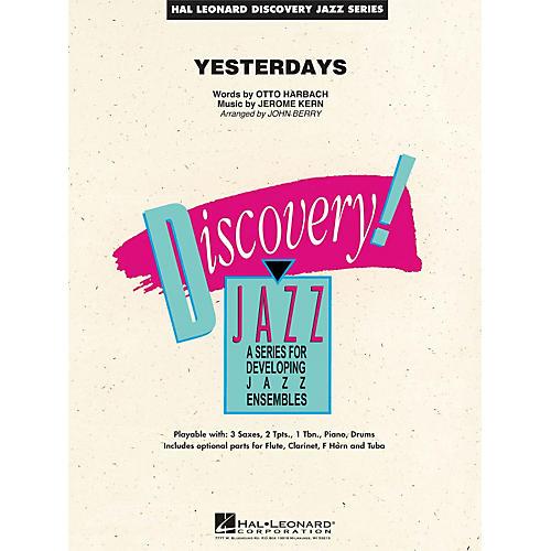 Hal Leonard Yesterdays - Discovery Jazz Series Level 1.5-thumbnail