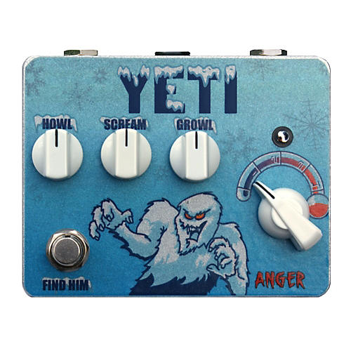 Tortuga Yeti Fuzz-Stortion Guitar Effects Pedal-thumbnail