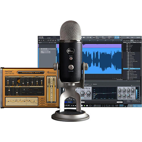 Blue Yeti Pro Studio USB/iOS Microphone - with $100 in Software-thumbnail