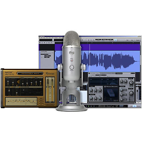 Blue Yeti Studio USB/iOS Microphone - with $100 in Software-thumbnail