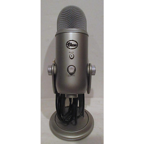 used blue yeti usb microphone guitar center