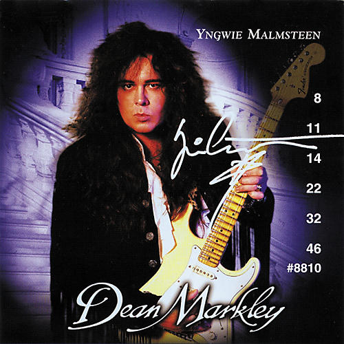 Dean Markley Yngwie Malmsteen Ball End Super Light Electric Guitar Strings