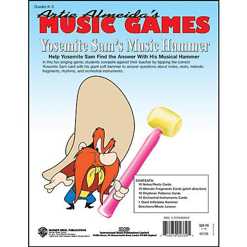 Alfred Yosemite Sam's Music Hammer Artie Almeida's Music Games