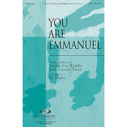 Integrity Choral You Are Emmanuel CD ACCOMP Arranged by BJ Davis