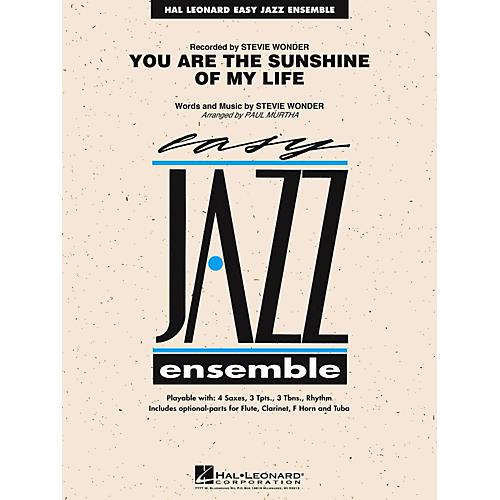 Hal Leonard You Are The Sunshine Of My Life Jazz Band Level 2
