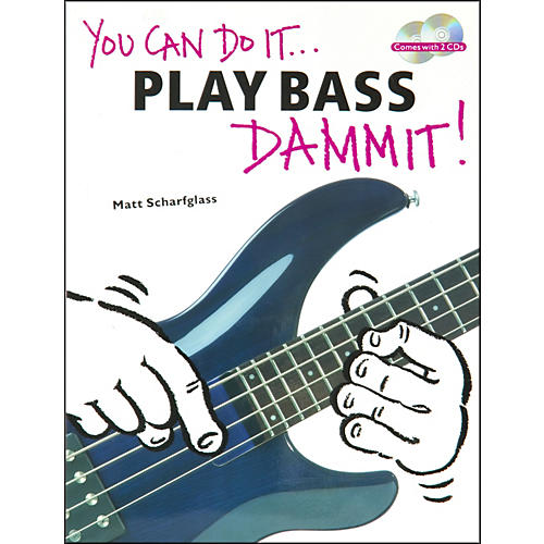 Music Sales You Can Do It - Play Bass Dammit (Book/CD)-thumbnail