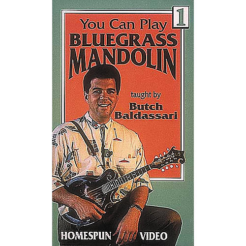 Homespun You Can Play Bluegrass Mandolin 1 (VHS)