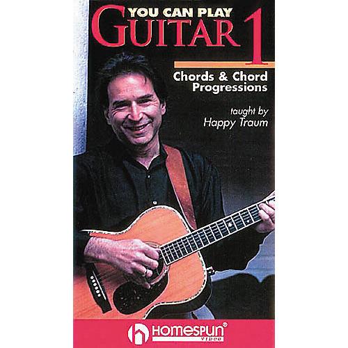 Hal Leonard You Can Play Guitar Chord Progressions Vol 1-thumbnail
