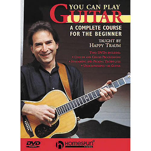 Homespun You Can Play Guitar (DVD)-thumbnail