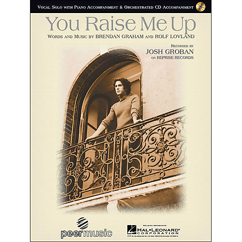 Hal Leonard You Raise Me Up By Josh Groban Vocal Solo with CD-thumbnail
