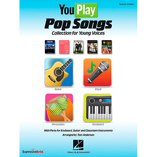Hal Leonard YouPlay Pop Songs Collection for Young Voices, Teacher's Edition-thumbnail