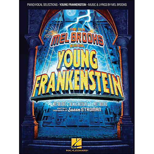 Hal Leonard Young Frankenstein arranged for piano, vocal, and guitar (P/V/G)-thumbnail