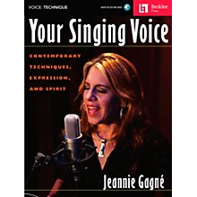Berklee Press Your Singing Voice - Contemporary Techniques, Expression And Spirit Book/CD