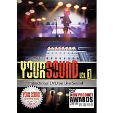 Hal Leonard Your Sound Vol.1 Instructional DVD On Live Sound
