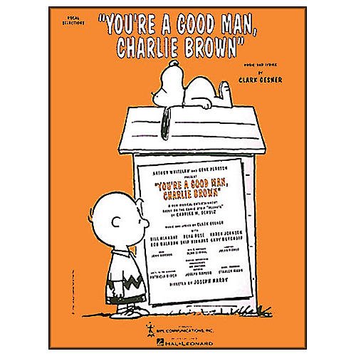 Hal Leonard You're A Good Man Charlie Brown Vocal Selections arranged for piano, vocal, and guitar (P/V/G)