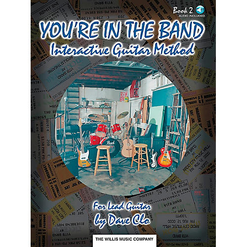 Willis Music You're In The Band Interactive Guitar Method Book 2 for Lead Guitar Book/CD-thumbnail