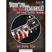 Willis Music You're In The Band Lead Guitar Book 1 Tab Edition Book/CD
