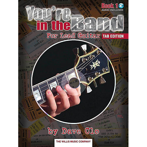 Willis Music You're In The Band Lead Guitar Book 1 Tab Edition Book/CD-thumbnail