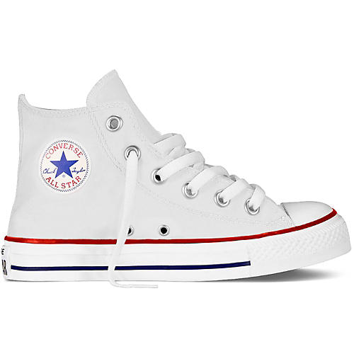Converse Youth Chuck Taylor Core Hi Top Optical White 3