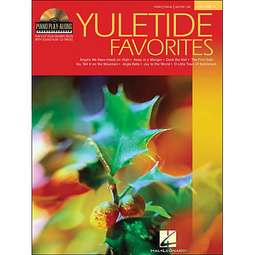 Hal Leonard Yuletide Favorites Book/CD Volume 13 Piano Play-Along arranged for piano, vocal, and guitar (P/V/G)-thumbnail