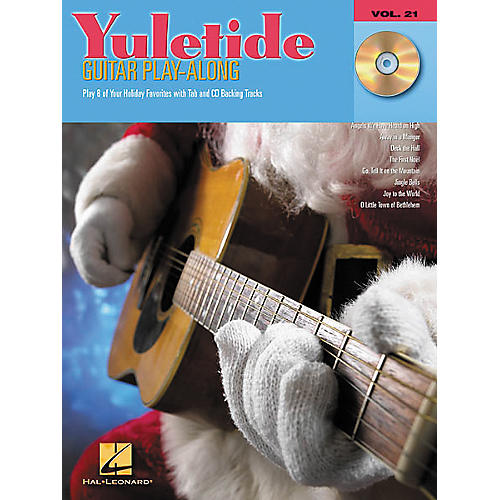 Hal Leonard Yuletide Guitar Play-Along Guitar Tab Book