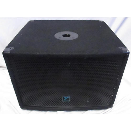 used yorkville yx10sp powered speaker guitar center. Black Bedroom Furniture Sets. Home Design Ideas