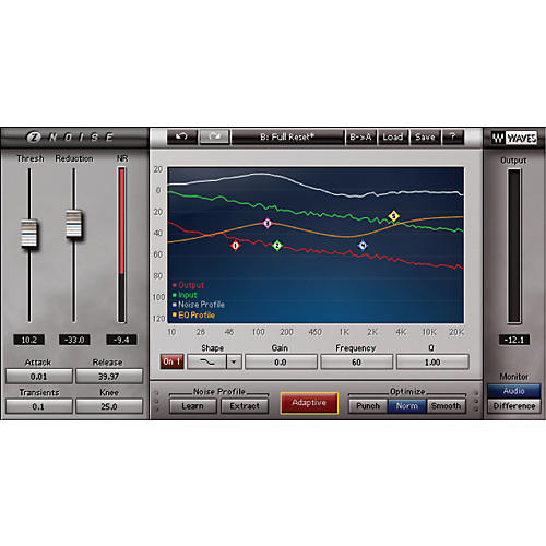 Waves Z-Noise Native/TDM/SG Software Download