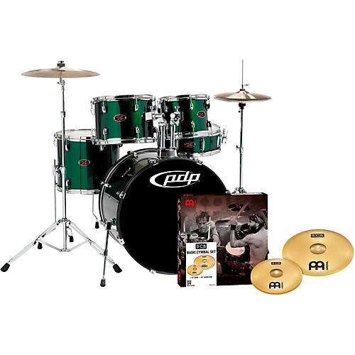 PDP by DW Z5 5-Piece Drumset with Meinl Cymbals-thumbnail