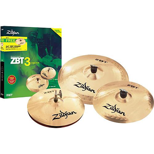 Zildjian ZBT 3 2008 Cymbal Pack-thumbnail