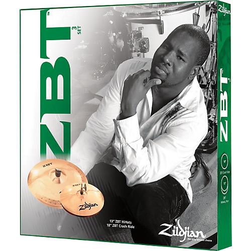 Zildjian ZBT 3-Piece Starter Cymbal Set