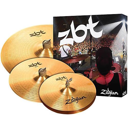 Zildjian ZBT 3 Starter Bonus Cymbal Pack with Free 14