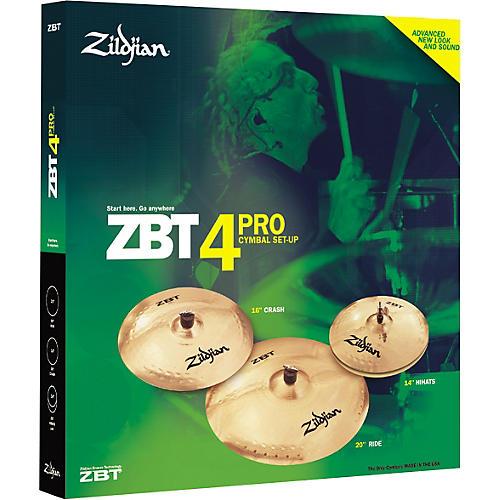 Zildjian ZBT 4 Pro 2008 Cymbal Pack-thumbnail