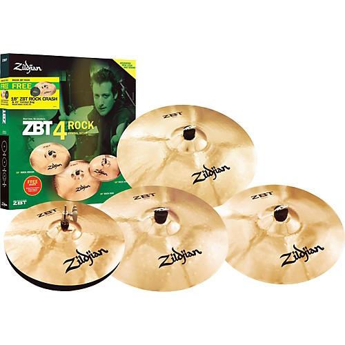 Zildjian ZBT 4 Rock 2008 Cymbal Pack-thumbnail