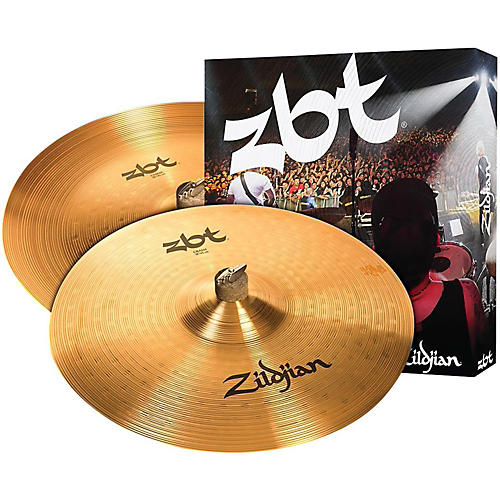 Zildjian ZBT China Crash Cymbal Pack-thumbnail