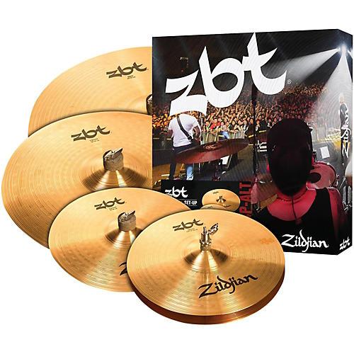 Zildjian ZBT Pro Cymbal Pack with Free 14