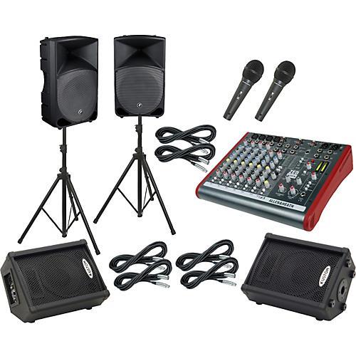 Allen & Heath ZED 10FX / Thump TH-15A Mains & Monitors Package-thumbnail