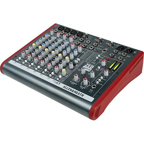 Allen & Heath ZED-10FX 6-Channel USB Mixer with Effects-thumbnail