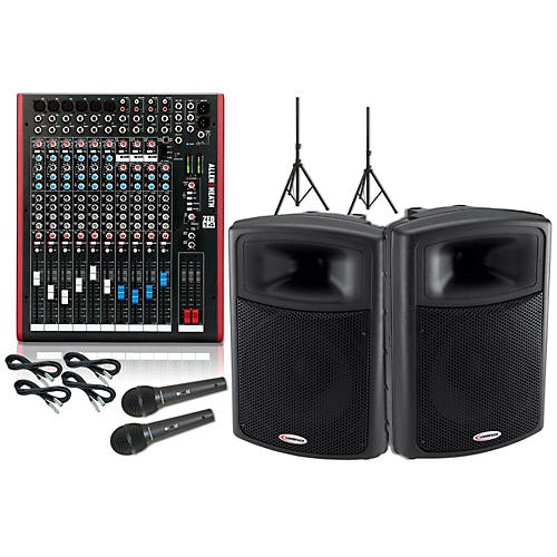 Allen & Heath ZED-14 / Harbinger APS15 PA Package