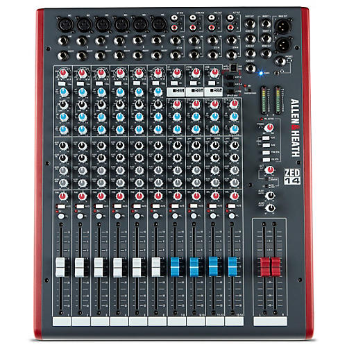 Allen & Heath ZED-14 USB Mixing Console-thumbnail