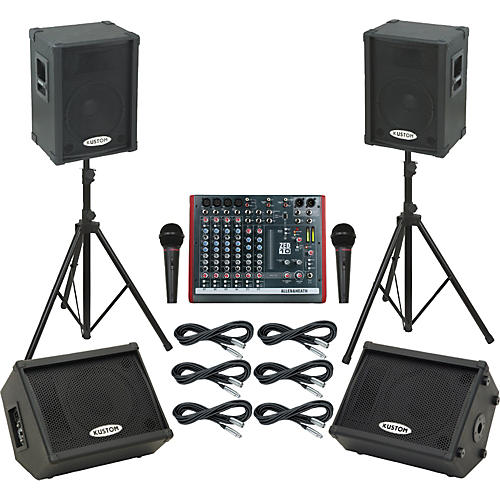 Allen & Heath ZED10 / KPC12P Mains & Monitors Package