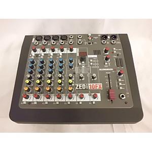 Pre-owned Allen and Heath ZED10FX Unpowered Mixer by Allen & Heath