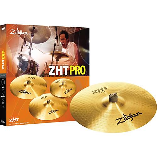 Zildjian ZHT Pro 4 Cymbal 4-Pack With Free 18