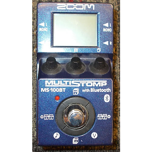 Zoom ZMS100BT Multistomp With Bluetooth Effect Processor